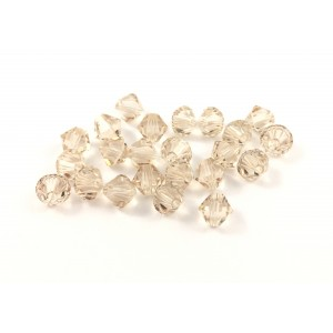 BICONE SWAROVSKI (5328) 6MM SILK