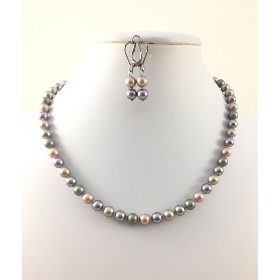 collier perle de swarovski