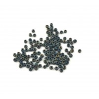 MIYUKI SEED BEAD NO. 11 PICASSO OPAQUE DARK TEAL