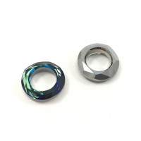 Swarovski cosmic ring 14 mm bermuda blue (4139)
