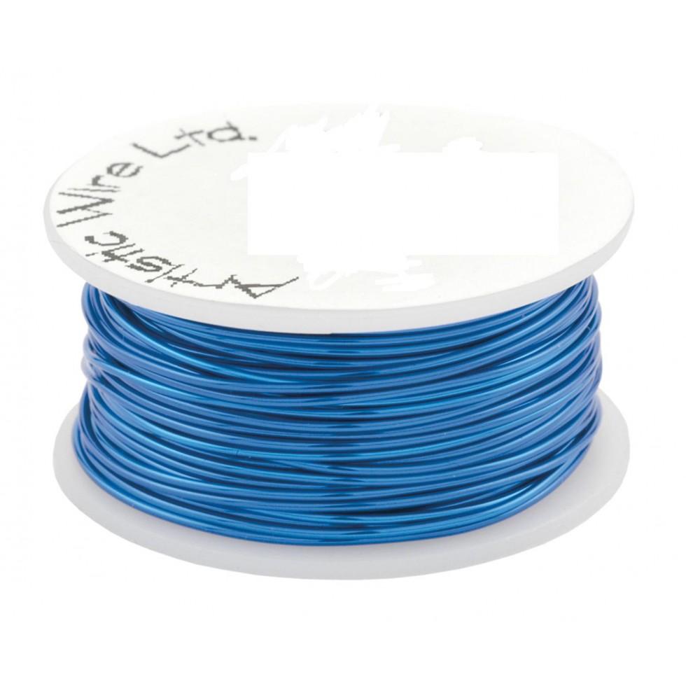 Fils-20gauge-Artistic-wire-Silve-rBlue-bleu